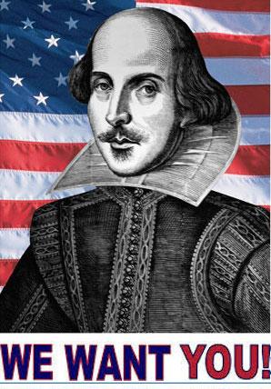 ShakespeareWantYouTwo