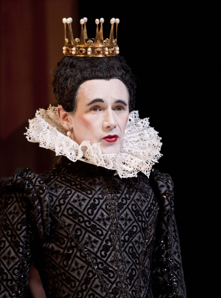 Mark Rylance as Olivia in the Shakespeare's Globe Theatre production of Twelfth Night
